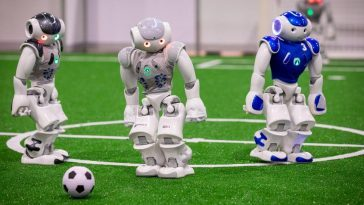 Robot Football Game 2050: Football Playing Robots V/s The World Cup Winners