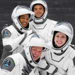 1st Civilian Crew Presented With Spacex Dragon Astronaut Wings